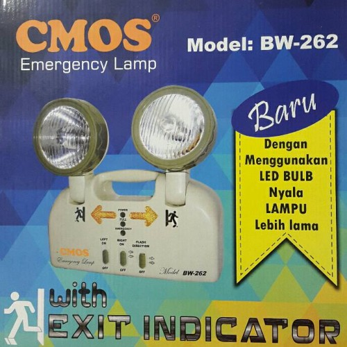 Foto Produk EMERGENCY LAMP CMOS CS-262 dari Saudara Jaya