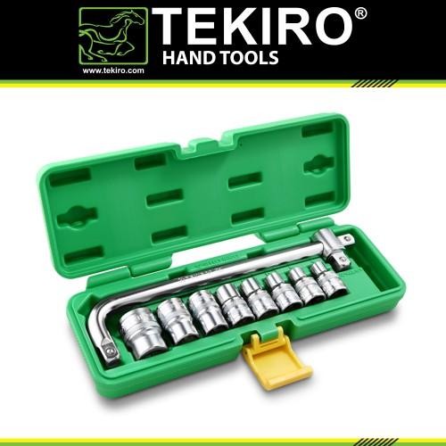 Foto Produk TEKIRO 1/2 INCH SET 6 PT 8 - 24 MM PLASTIK 10 PCS / KUNCI SOCK SET dari TEKIRO - REXCO Official