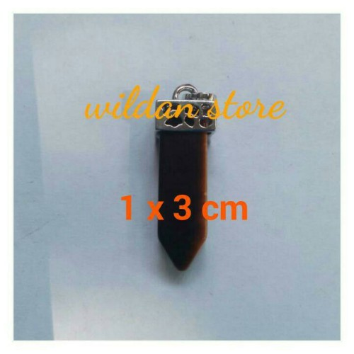 Foto Produk liontin batu trendy mini tiger eye dari wildan-store