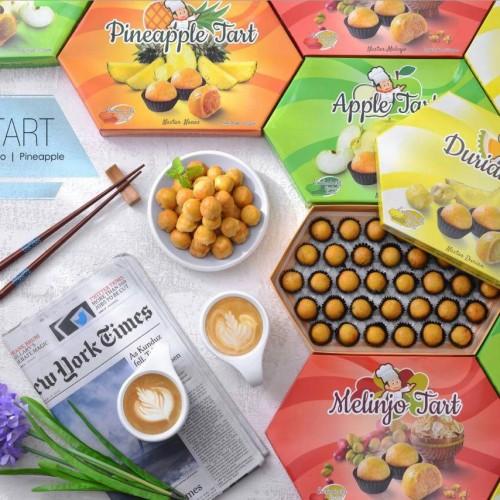 Foto Produk Glory Tart Pineapple/Blinjo/Apple dari Glory Snack