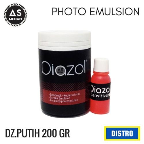Foto Produk OBAT AFDRUK SABLON - DIAZOL PUTIH 200GR dari ALAT SABLON MEDAN