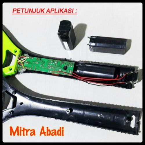 Foto Produk Batre/Baterai/Battery Raket Nyamuk 1200 mAh Aki 4V Rechargeable dari Toko Mitra Abadi