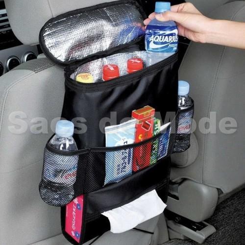 Foto Produk Rak Gantungan Jok Mobil Penahan Panas Dingin / Car Seat Bag Organizer dari Sacs de Mode