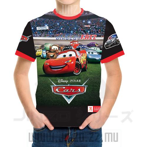 Foto Produk Kaos Motif Kartun Karakter Mobil Disney Cars 1 dari Jinzo Series