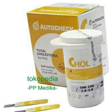 Foto Produk Stik Autocheck KOLESTEROL (CHOLESTEROL) dari PP MEDIKA