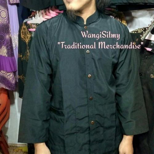 Foto Produk Baju Pangsi Hitam, Hanya Atasan dari wangisilmy