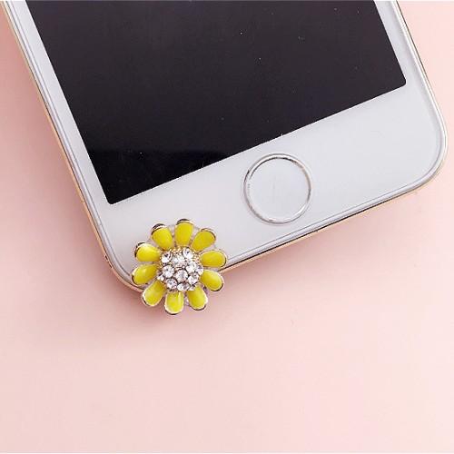 Foto Produk Pluggy Bunga Matahari Kuning Dust Plug Aksesoris HP Tab ipad dari Oh So Cute