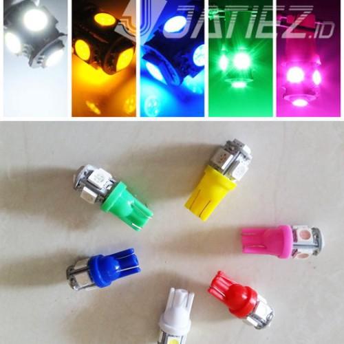 Foto Produk LED T10 5 smd - Merah dari JATIEZ Store