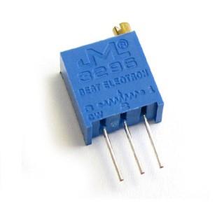 Foto Produk 3296W 103 10k ohm Multiturn Trimpot Trimmer Variable Resistor VR AM86 dari toko puwei
