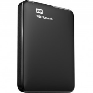 Foto Produk WD Elements Portable Hard Drive USB 3.0 - 1TB dari AdainAja
