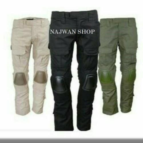 Foto Produk Ceana Tactical Kneepat HILICON Pants / Tactical Pents Quality Import dari najwan shop