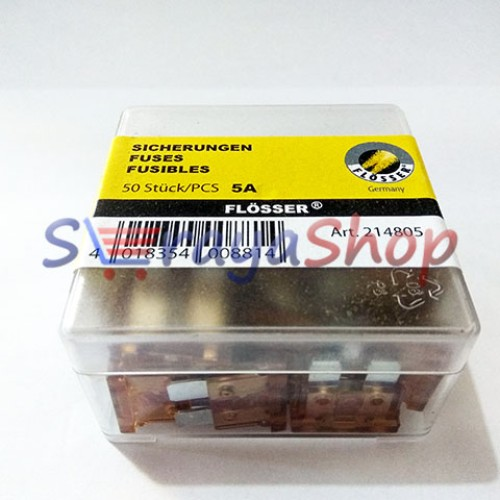 Foto Produk Sekring / Fuse Blade (DX) 5A (Coklat Muda) Flosser dari Seraya Shop