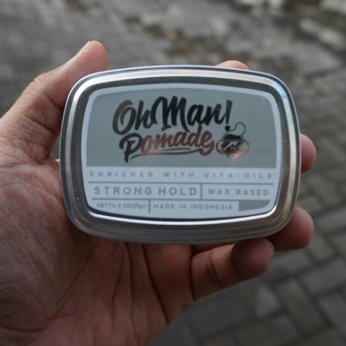 Foto Produk New Ohman Pomade Oilbased Nutri Green dari OmiStore
