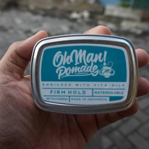 Foto Produk NEW OHMAN POMADE WATERBASED NUTRI BLUE dari OmiStore