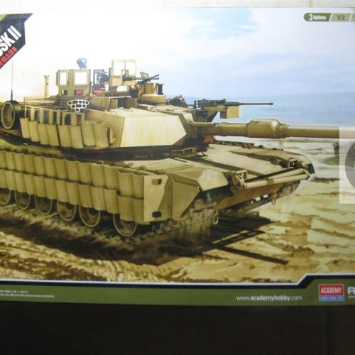 Foto Produk Model Kit Academy 1/35 - Tank M1 A2 Abrams SEP V2 / TUSK / TUSK II dari Creative Gadget