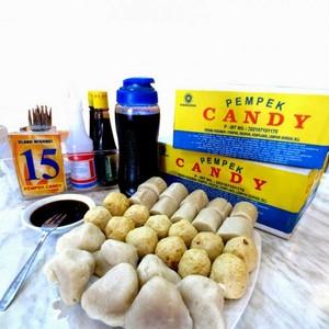 Foto Produk Pempek Candy Paket B Isi 50 Pcs [Citarasa Khas Pempek Palembang] dari qsd olshop