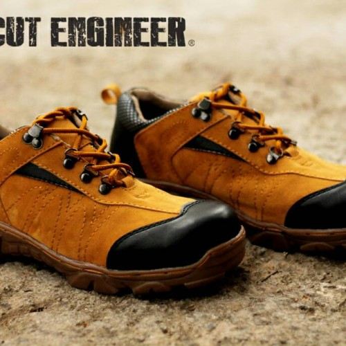 Foto Produk sepatu safety boots new tactikal cut engineer tan dari Cut Engineer