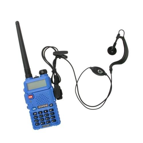 Foto Produk Radio Walkie  Talky HT BAOFENG POFUNG Dual Band UHF VHF UV-5R - Blue dari Tanaga Online Shop