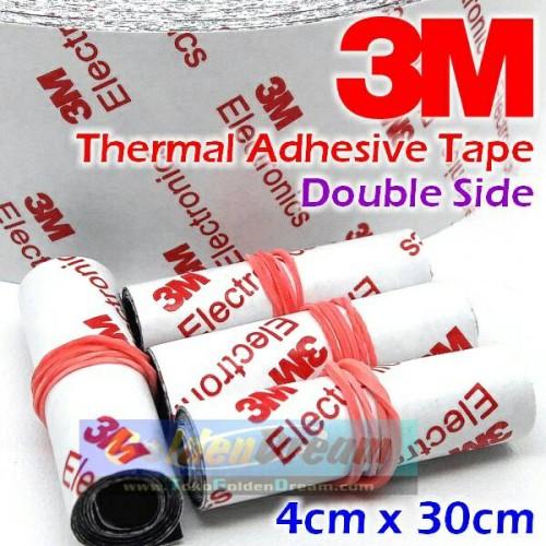 Foto Produk Thermal Adhesive Tape 3M Double Side 9448A Sticker Heatsink Panas Heat dari Golden Dream