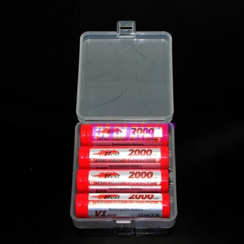 Foto Produk Transparent Battery Case for 4x18650 dari BudgetGadget