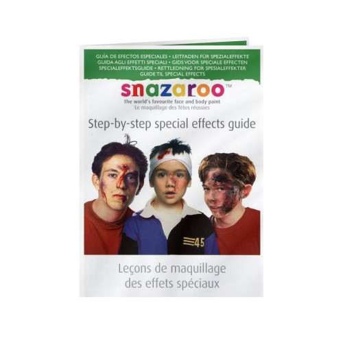 Foto Produk SNAZAROO Step-by-step Special Effects Guide dari Dreamshop