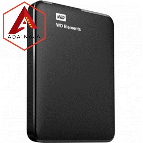 Foto Produk WD Elements Portable Hard Drive USB 3.0 - 2TB - Black dari AdainAja