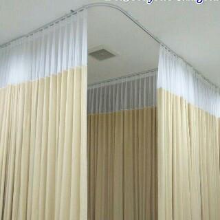 Foto Produk gorden rumah sakit plastik dari deden decor