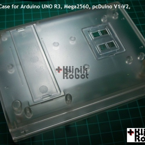 Foto Produk Transparent Case w/ Extension for pcDuino/ Arduino UNO/Mega2560 dari KlinikRobot