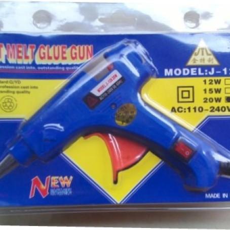 Foto Produk Lem Tembak / Hot Melt Glue Gun 20w Switch On Off dari khalisah grosir