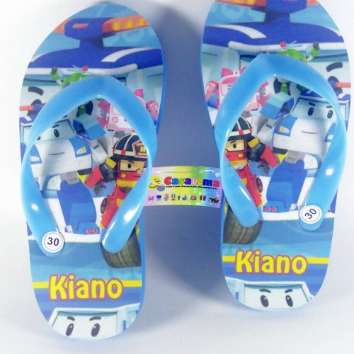 Foto Produk sandal anak karakter robocar poli keren lucu cute dari casaloma