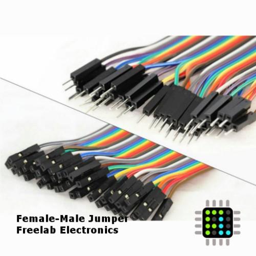 Foto Produk Female male kabel jumper 10 buah dari Freelab