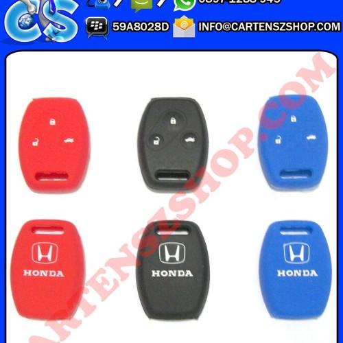 Foto Produk Silikon Kunci 3 Tombol Mobil Honda Accord, Jazz, CRV, Dll dari Cartensz Shop