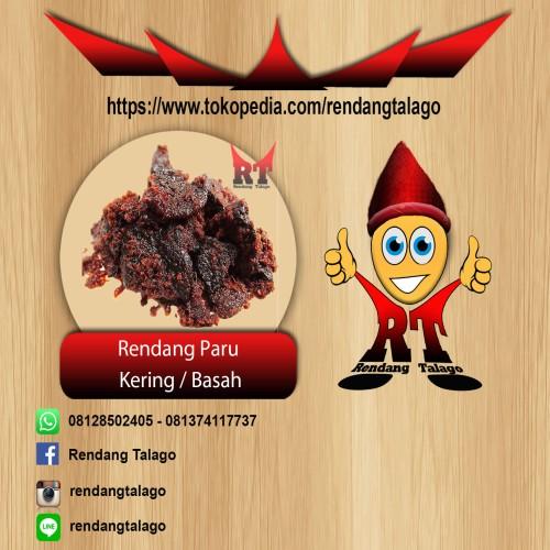 Foto Produk Rendang Paru Kering 1 Kg dari Rendang Talago