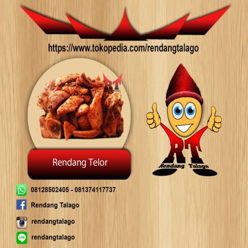 Foto Produk Rendang Talago Telor 1 Kg dari Rendang Talago