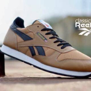 Foto Produk Sepatu reebok classic coklat,sepatu pria casual/runner import dari Arfaz_collection