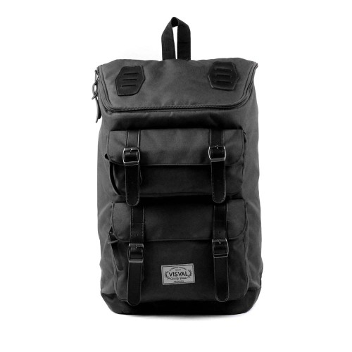 Foto Produk Tas Visval Majestic Black /Tas Ransel/Tas Laptop/tas punggung branded dari suprasokoindomakmurshop