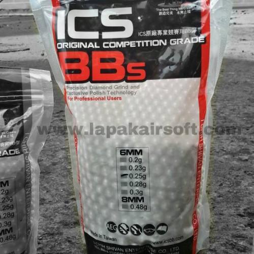 Foto Produk BB  ( Ball Bullet ) ICS taiwan / 0,25gr dari Lapakairsoft