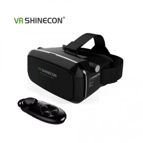Foto Produk VR SHINECON Virtual Reality Headset 3D Glasses  -  BLACK dari IndoWebstorecom