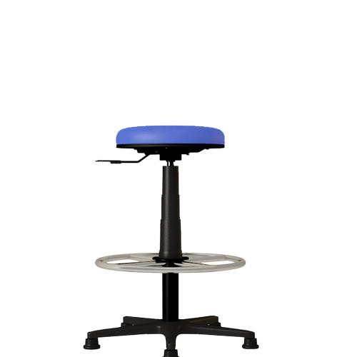 Foto Produk Verona Chair Kursi Bar Cafe Tamu Toko Murah Type KB-002-H Kain dari Kursi Kantor Murah