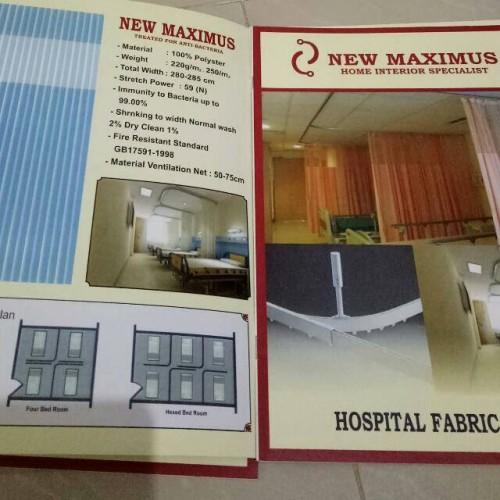 Foto Produk gorden rumah sakit anti bakteri dari deden decor