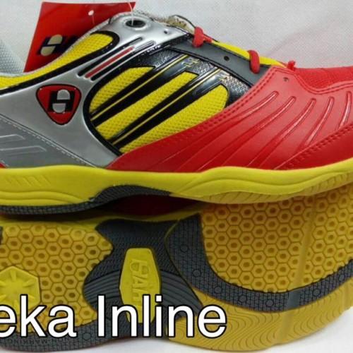 Foto Produk Sepatu Badminton HART HS 503 ( Red/Yell ) dari Aneka Inline