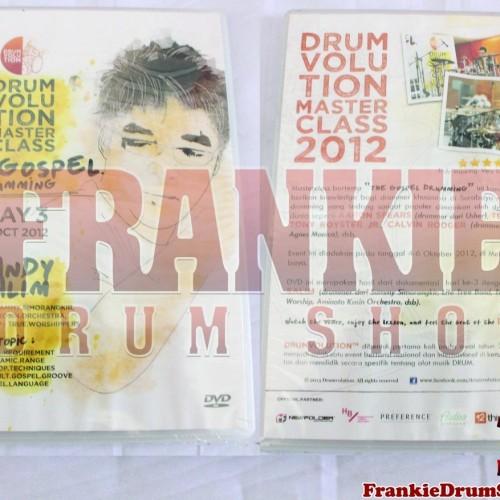 Foto Produk ORI Dvd DrumVolution Master Class 2012 The Gospel Drumming Handy Salim dari FrankieDrumShop