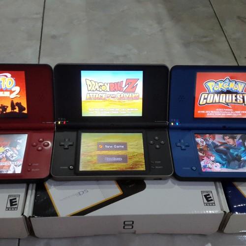 Foto Produk NDS i XL / NDS XL / NINTENDO DSI XL WHITE +MC 8GB + R4+ FULL GAME dari OMEGAMECOM ANDI HANJOKO