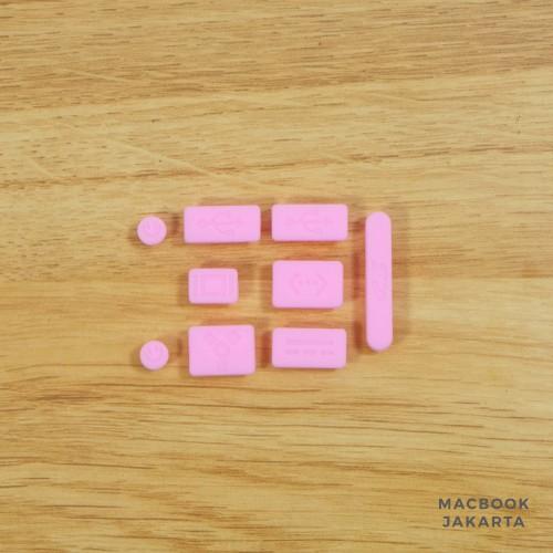 Foto Produk Anti Dust / Dust Plug Macbook Pink dari Case Macbook Jakarta