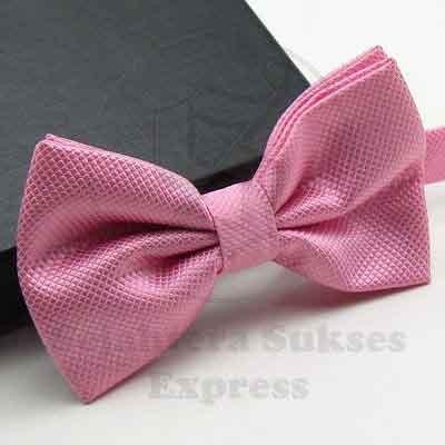 Foto Produk dasi kupu kupu import pink grosir dan eceran bisa utk wedding sse dari SSE Trade Center
