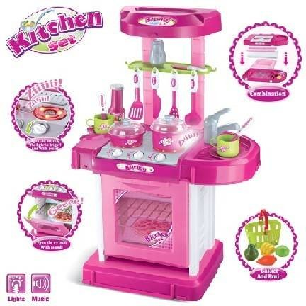 Foto Produk SALE Kitchen Set Koper Mainan Anak Masak / Dapur dari theona.tata