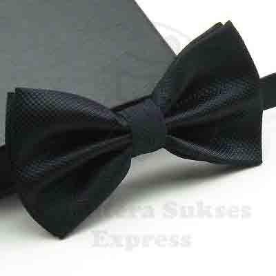 Foto Produk dasi kupu kupu import hitam black grosir dan eceran bisa utk wedding dari SSE Trade Center