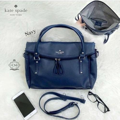 Foto Produk Tas wanita cewek branded fashion handbag Katespade KS Cobble Leslie dari abugo shop