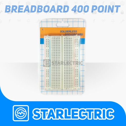Foto Produk Breadboard 400 Tie Point dari Starlectric