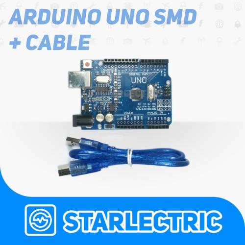 Foto Produk Arduino Uno R3 CH340 clone + Kabel dari Starlectric